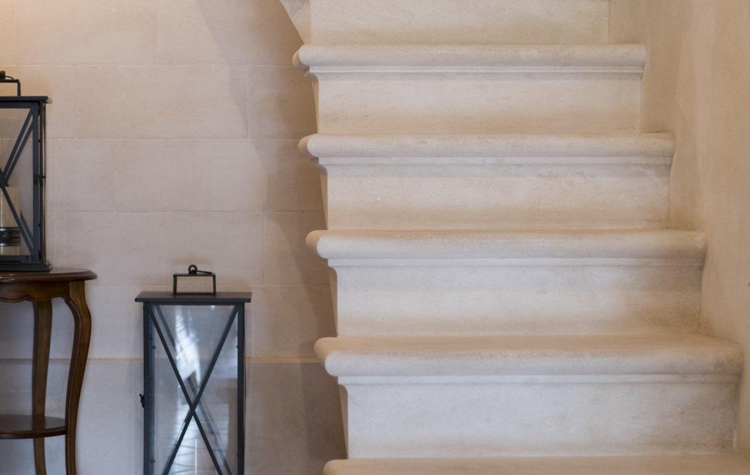 Escalier massif à Carpentras