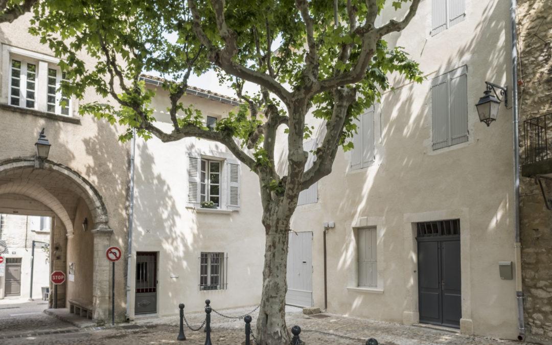 Rénovation de façade vers Chartreuse de Villeneuve-les-Avignon
