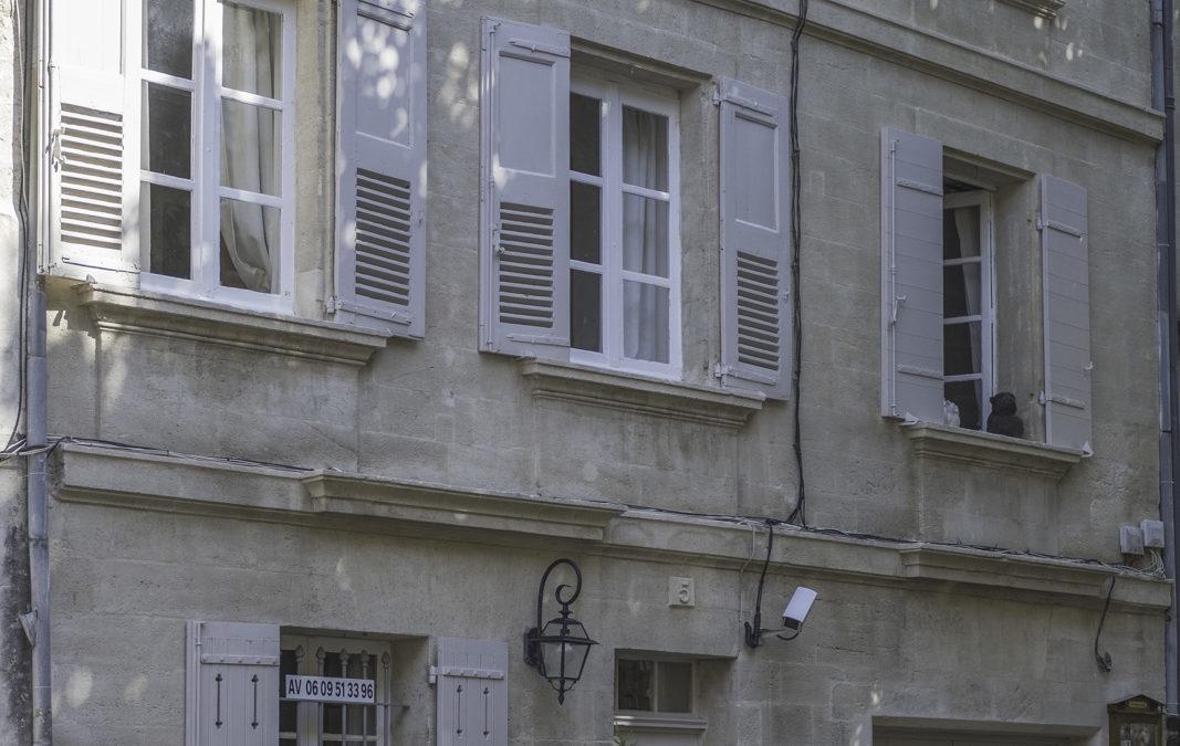 Rénovation de façade d'un hôtel à Villeneuve-les-Avignon