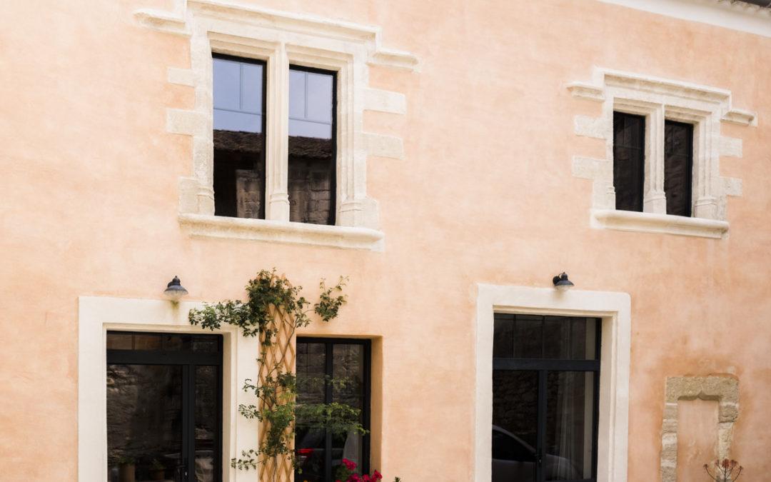 Rénovation de façade à Villeneuve-les-Avignon